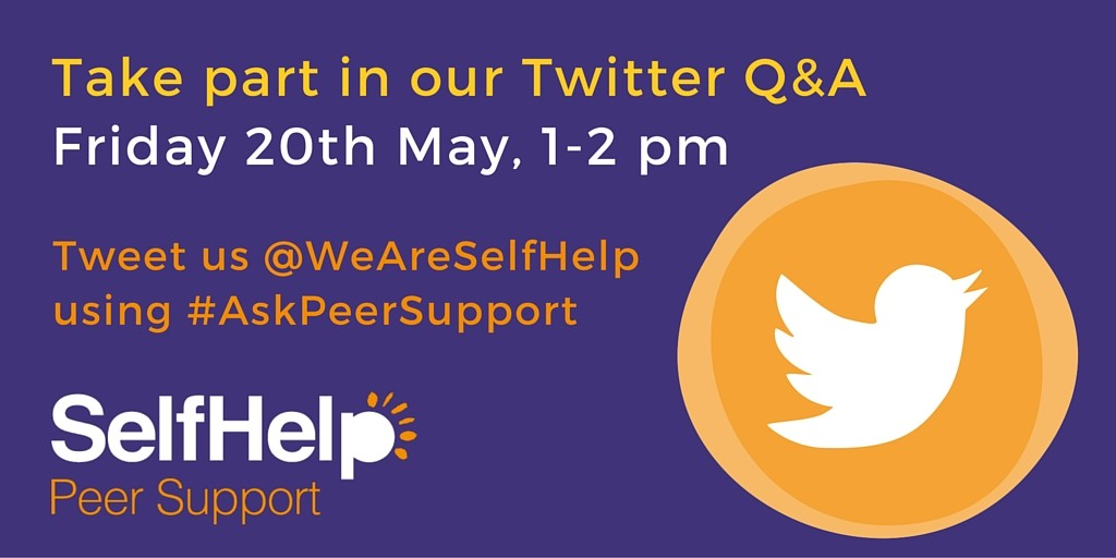 Twitter Q&A- Peer Support
